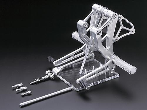 AELLA アエラ バックステップ ライディングステップキット カラー:ホワイト スポーツツーリング ST2 スポーツツーリング ST3 スポーツツーリング ST4 スポーツツーリング ST4S スポーツツーリング ST4S ABS