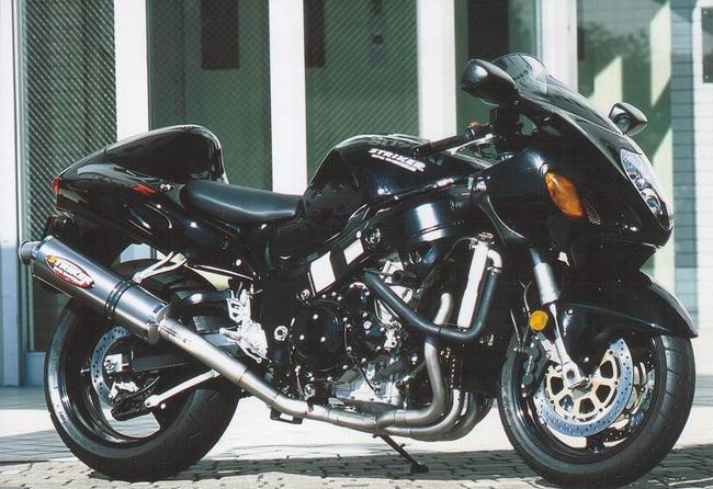STRIKER ストライカー フルエキゾーストマフラー GSX1300R RACING ハヤブサ(隼) CONCEPT[レーシングコンセプト] チタンフルエキゾースト タイプ:チタン素地 GSX1300R STRIKER ハヤブサ(隼), 新城市:c91f76f1 --- sunward.msk.ru