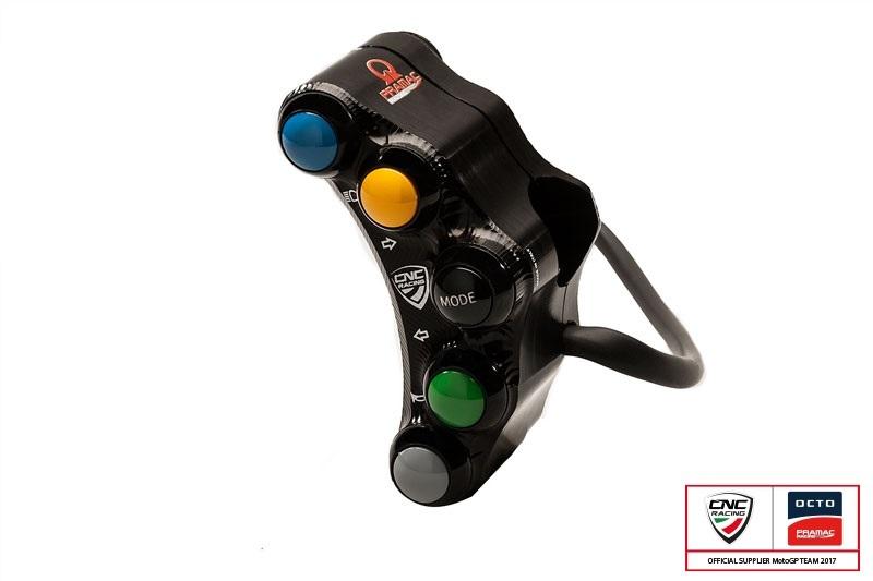 CNC Racing CNCレーシング ハンドルスイッチ ハンドルバースイッチ 左側 PRAMACレーシング 限定版 レース用