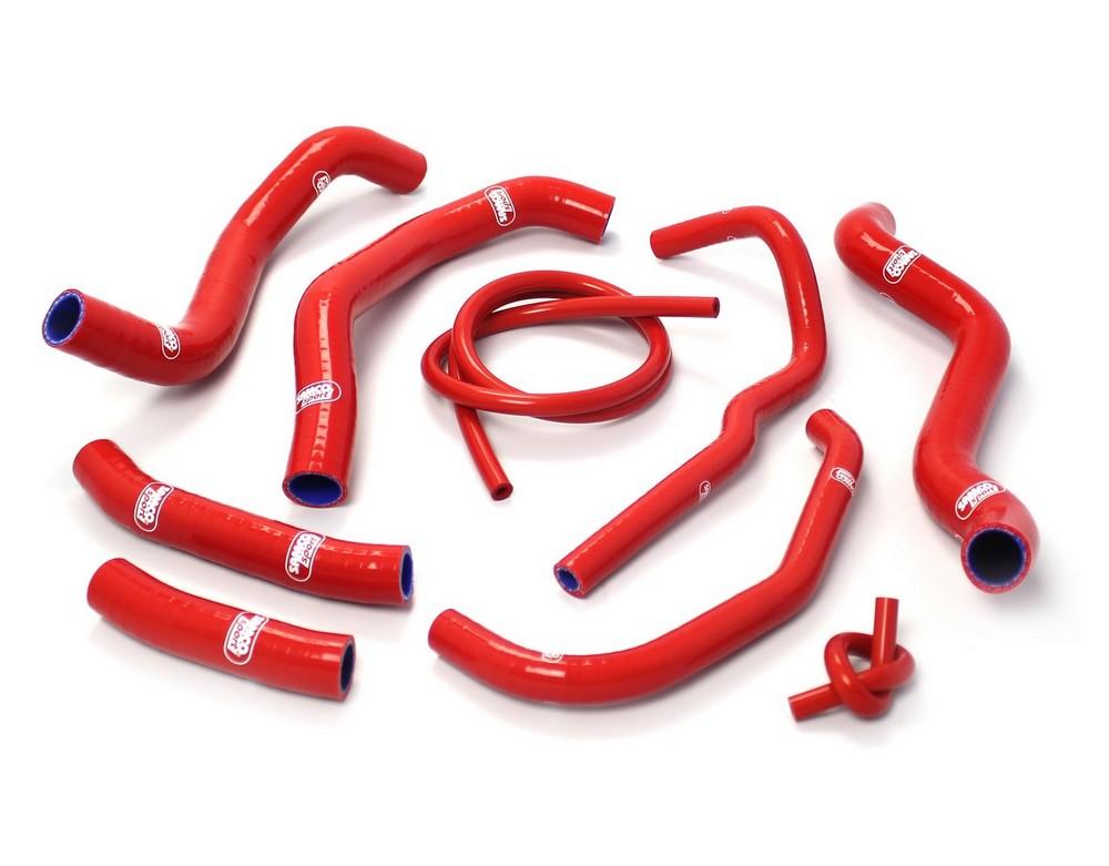 SAMCO SPORT サムコスポーツ ラジエーター関連部品 クーラントホース(ラジエーターホース) カラー:レッド CB 1300 Super Four F / S SC54 2003-2009