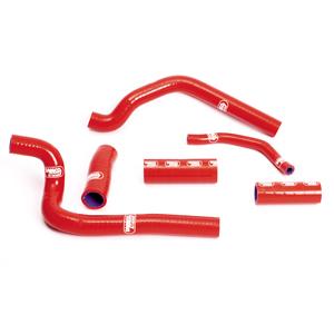 SAMCO SPORT サムコスポーツ ラジエーター関連部品 クーラントホース(ラジエーターホース) カラー:レッド CR 500 R 1989-2001