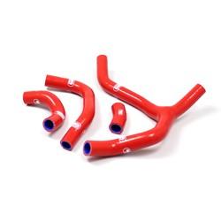 SAMCO SPORT サムコスポーツ ラジエーター関連部品 クーラントホース(ラジエーターホース) カラー:レッド CRF 450 R 2013-2014