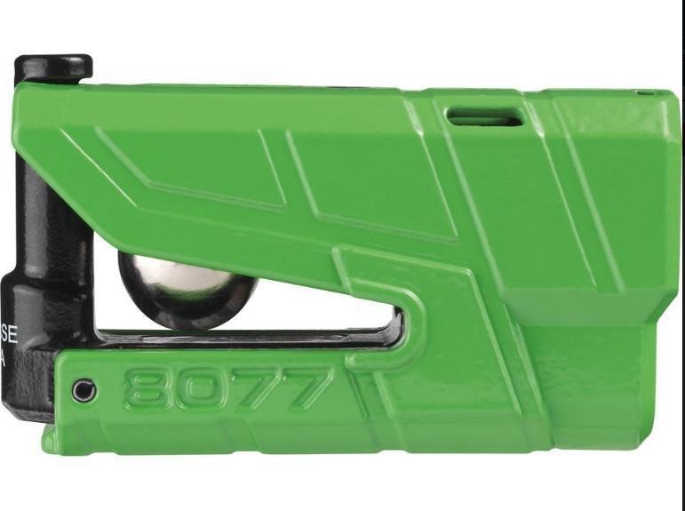 ABUS アブス ディスクロック Granit Detecto カラー:グリーン