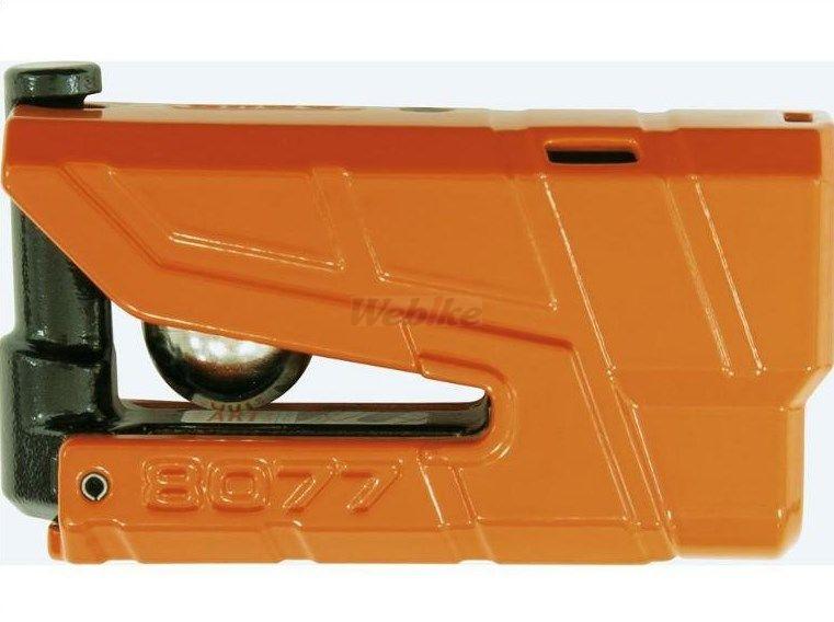 ABUS アブス ディスクロック Granit Detecto カラー:オレンジ