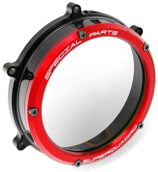 DUCABIKE ドゥカバイク クリアークラッチカバー NEWバージョン PANIGALE 1199 PANIGALE 1299 PANIGALE 959 PANIGALE V2