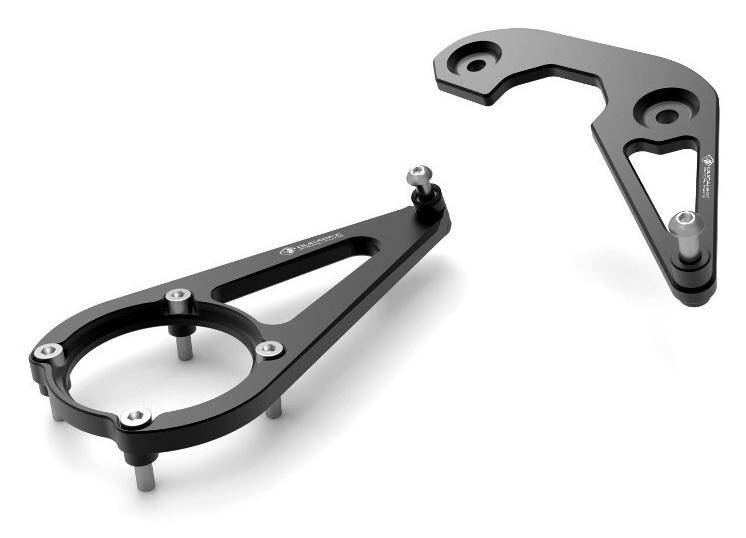 DUCABIKE ドゥカバイク ステアリングダンパー クランプ カラー:ブラック SCRAMBLER CAFE RACER