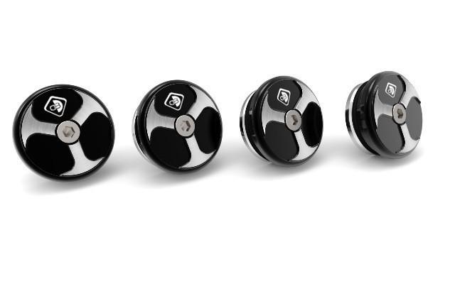 DUCABIKE ドゥカバイク 汎用外装部品・ドレスアップパーツ フレームプラグ XDIAVEL カラー:ブラック XDIAVEL