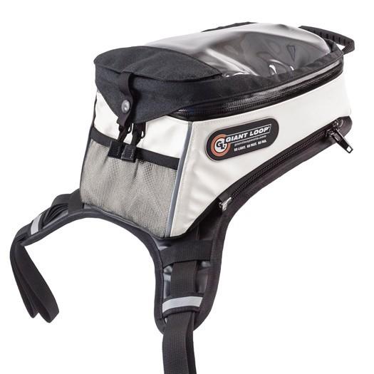 GIANTLOOP ジャイアントループ Diablo Tank Bag PRO タンクバッグ カラー:ホワイト