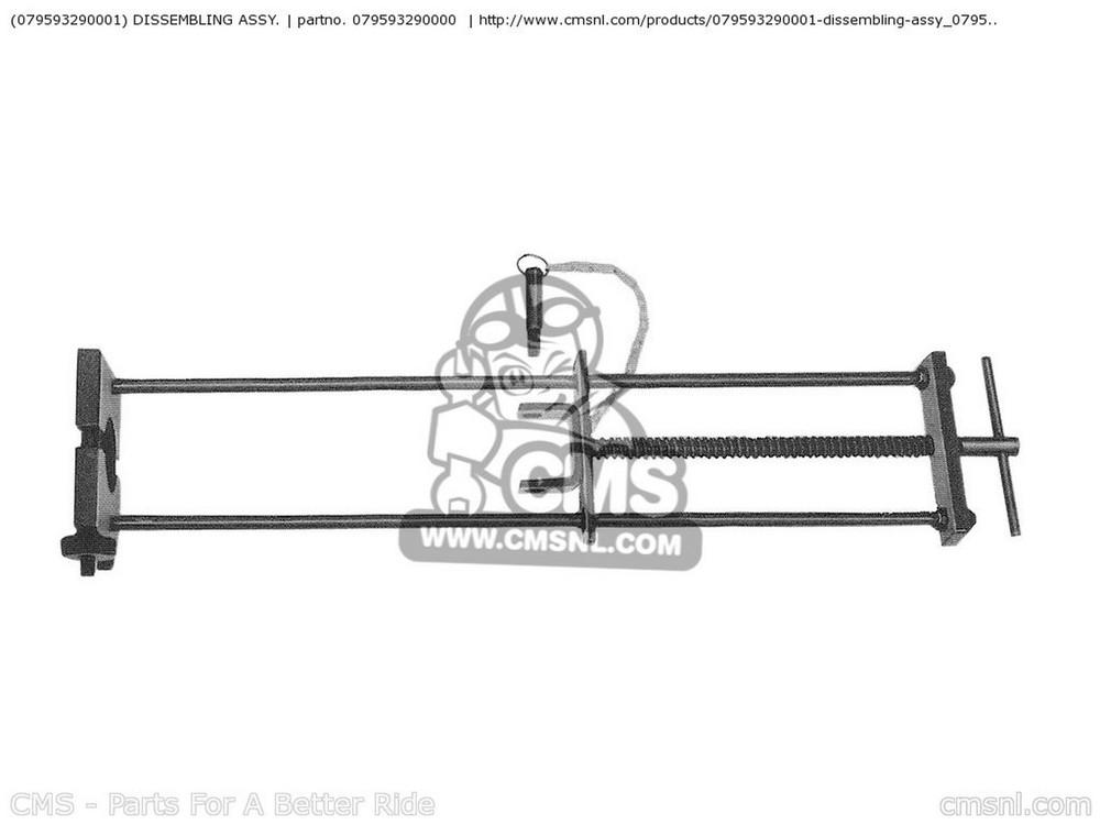 CMS シーエムエス その他、バイク用特殊工具 (07959-3290002) DISSEMBLING ASSY. CB450K0 BLACK BOMBER 1965 USA