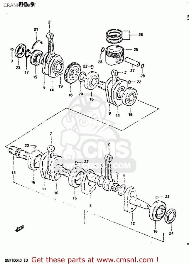 CMS シーエムエス その他エンジンパーツ (12103-49841-050) PISTON