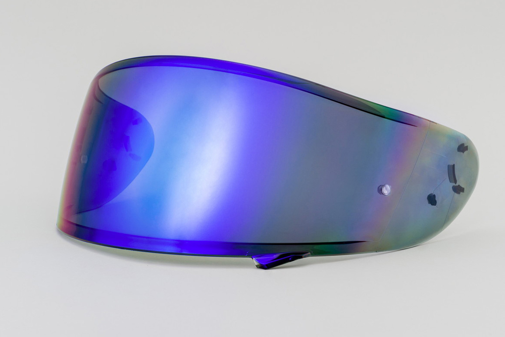 EXTRA SHIELD エキストラシールド シールド・バイザー CWR-1 ピンロックミラーシールド カラー:ダークスモーク/ブルー Z-7 X-Fourteen(X-14)