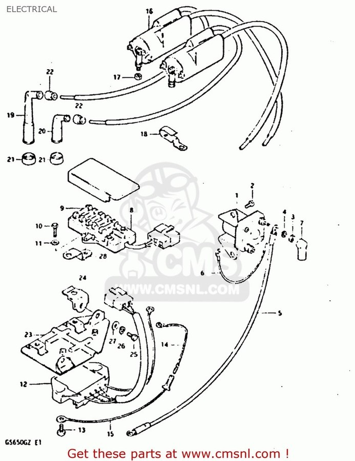 CMS シーエムエス イグニッションコイル・ポイント・イグナイター関連 (3341005A01) COIL ASSEMBLY,IGNITION