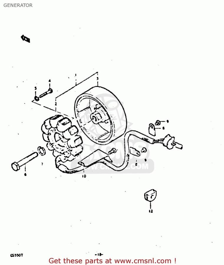 CMS シーエムエス その他電装パーツ (31401-45030) STATOR ASSEMBLY