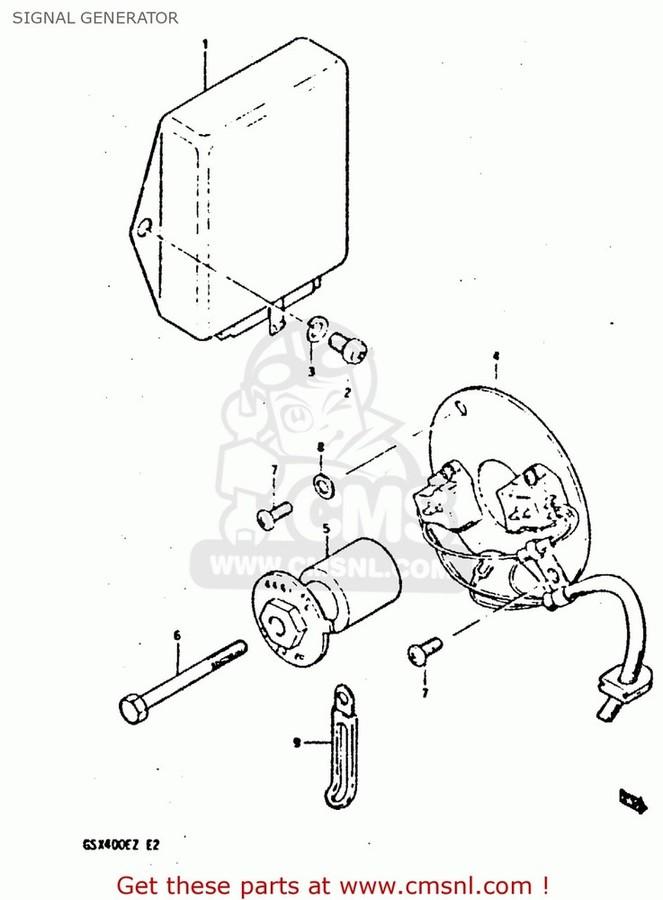 CMS シーエムエス その他電装パーツ (33110-44420) SIGNAL GENERATOR ASSEMBLY