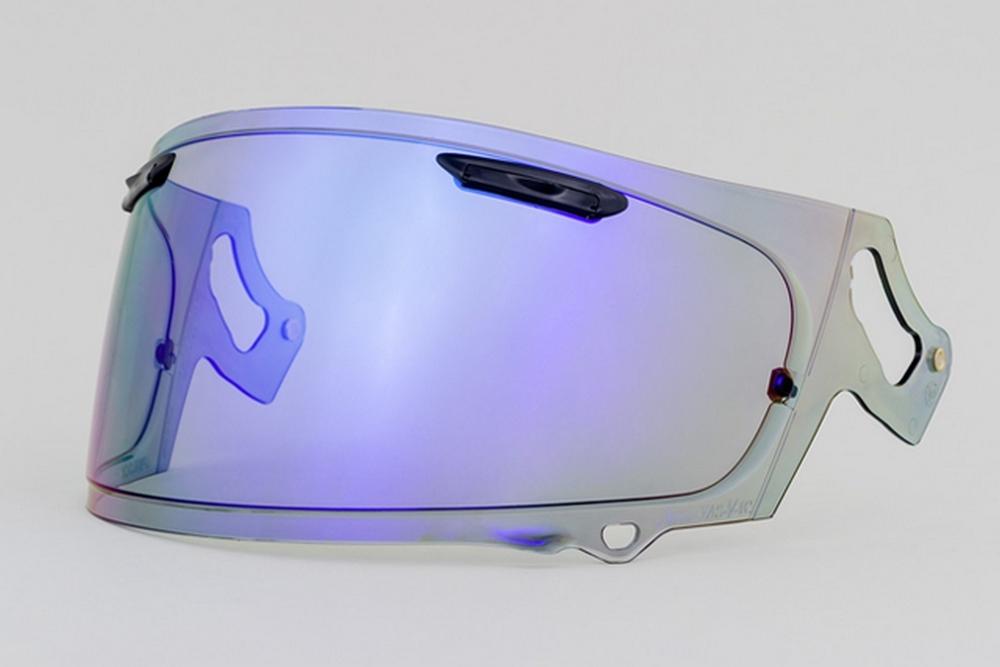 EXTRA SHIELD エキストラシールド シールド・バイザー EXTRA VAS-V ミラーシールド カラー:セミスモーク/ブルー RX-7X ASTRAL-X VECTOR-X