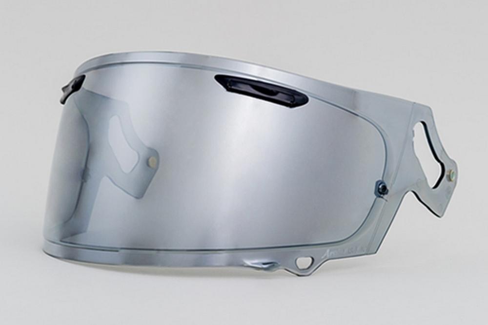 EXTRA SHIELD エキストラシールド シールド・バイザー EXTRA VAS-V ミラーシールド カラー:セミスモーク/シルバー RX-7X ASTRAL-X VECTOR-X