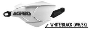 ACERBIS アチェルビス X-FACTORYハンドガード カラー:ホワイト/ブラック