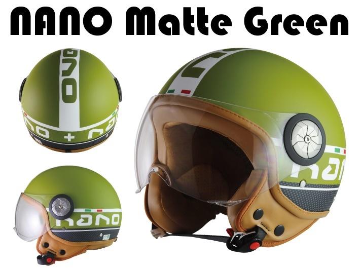 MADMAX マッドマックス BEON スモールジェットヘルメット B110 NANO サイズ:M(57-58cm)