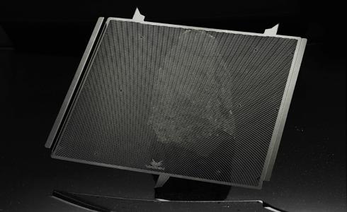 VORGUE ヴォーグ Radiator Core Guard【ラジエターコアガード】 カラー:スーパーブラック NINJA H2