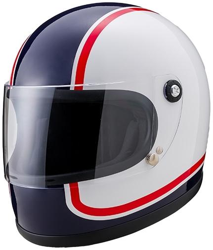 山城 YAMASHIRO フルフェイスヘルメット ニューレトロフルフェイス750 サイズ:XL