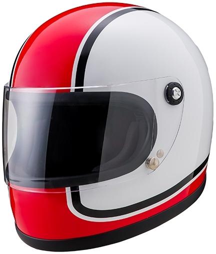 山城 YAMASHIRO フルフェイスヘルメット ニューレトロフルフェイス750 サイズ:L