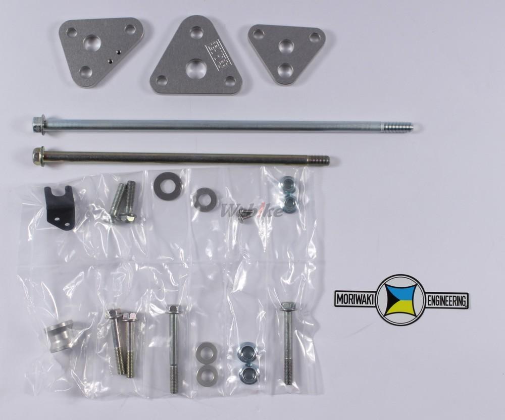 MORIWAKI ENGINEERING モリワキエンジニアリング エンジンマウントキット Z1 (900SUPER4) Z1-R/Z1-RII Z1000 MkII Z2 (750RS/Z750FOUR) Z750FXII/III Z900 (KZ900) Z1000 Z750