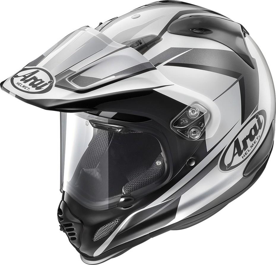 Arai アライ オフロードヘルメット TOUR-CROSS3 FLARE [ツアークロス3 フレア シルバー] ヘルメット サイズ:XS(54cm)