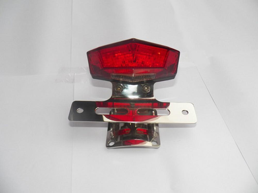 GIGA BIKE FACTORY ギガバイクファクトリー テールランプ LEDテールライト (クローム) SR400 SR500