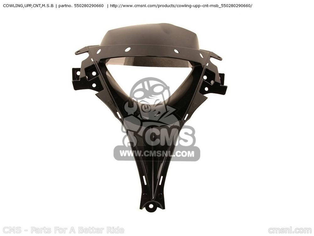 CMS シーエムエス アッパーカウル COWLING,UPP,CNT,M.S.B ZX600RCF NINJA ZX6R 2012 USA