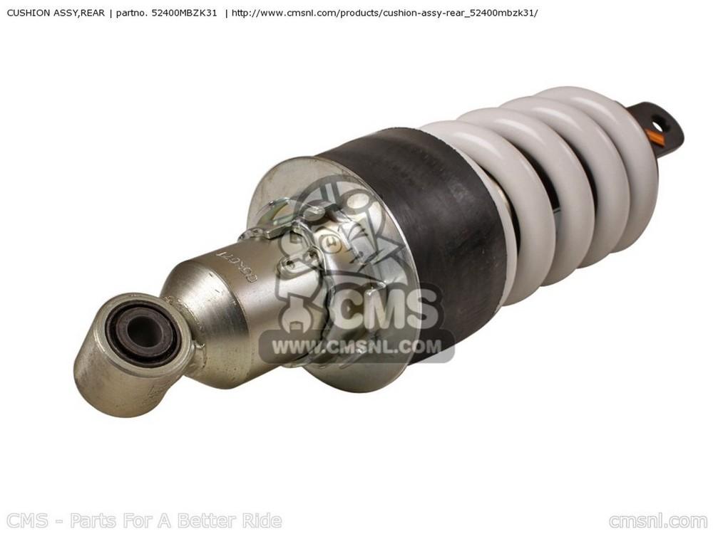 CMS シーエムエス リアサスペンション CUSHION ASSY,REAR CB600F HORNET 2003 (3) EUROPEAN DIRECT SALES / 25K