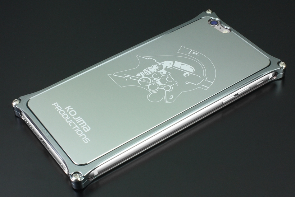 GILD design ギルドデザイン Kojima Productions Logo Ver. for iPhone6sPlus/6Plus スマートフォンケース