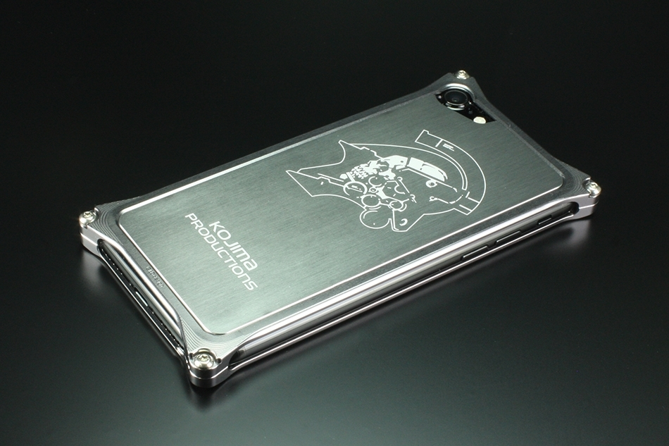 GILD design ギルドデザイン Kojima Productions Logo Ver. for iPhone7 スマートフォンケース