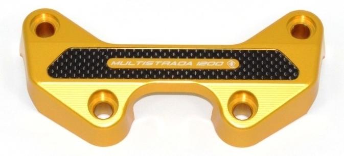 DUCABIKE ドゥカバイク ハンドルポスト ハンドルバークランプ カラー:ゴールド MULTISTRADA 1200 (DTVエンジン) 15