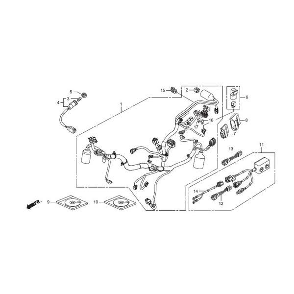HRC エイチアールシー その他電装パーツ ユニットCOMP PGM-FI/IGN GROM