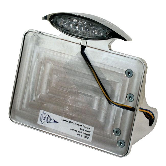 CPV シーピーブイ ナンバープレートブラケットキット【LICENSE PLATE BRACKET KIT】 84-07 SOFTAIL(NU)
