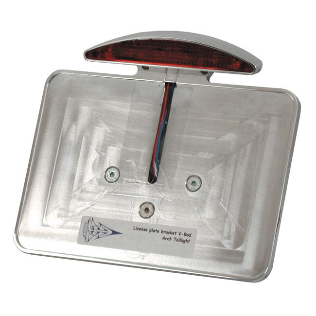 CPV シーピーブイ ナンバープレートブラケット【LICENSE PLATE BRACKET】 02-17 V-ROD (EXCL. 09-17 VRSCF)