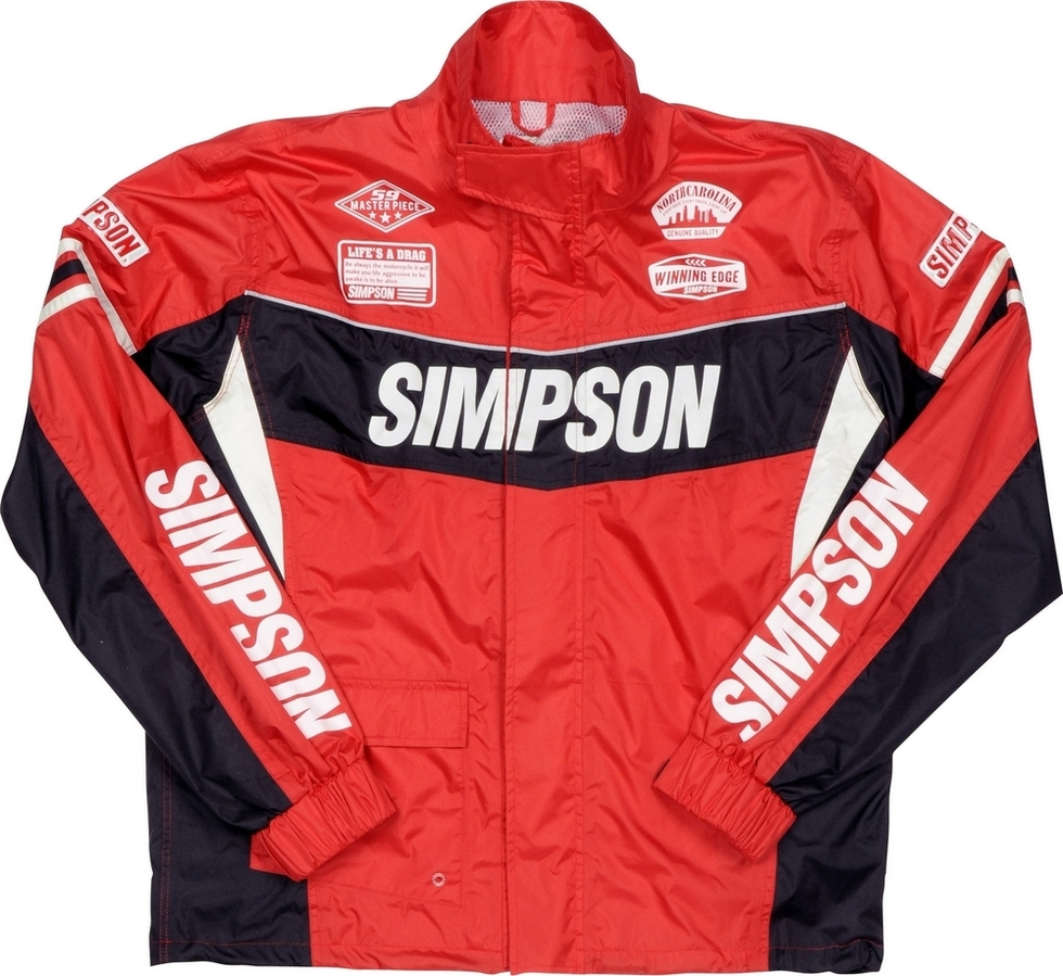 SIMPSON シンプソン レインウェア Rain Suit [レインスーツ] サイズ:L