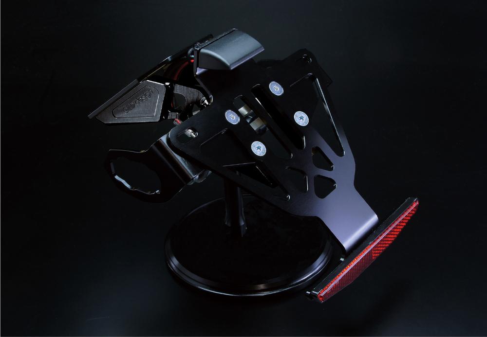 GILD design ギルドデザイン フェンダーレスキット カラー:ブラック ニンジャ250SL
