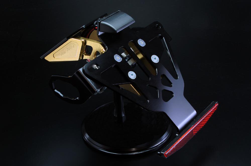 GILD design ギルドデザイン フェンダーレスキット カラー:ゴールド ニンジャ250SL