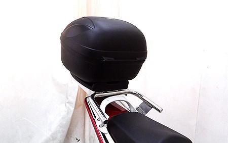 【イベント開催中!】 WirusWin ウイルズウィン バックレスト・グラブバー リアボックス付き タンデムバー CB400スーパーフォア