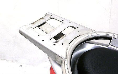 WirusWin ウイルズウィン バックレスト・グラブバー リアボックス用ベースブラケット付きタンデムバー ブライアントタイプ PCX125