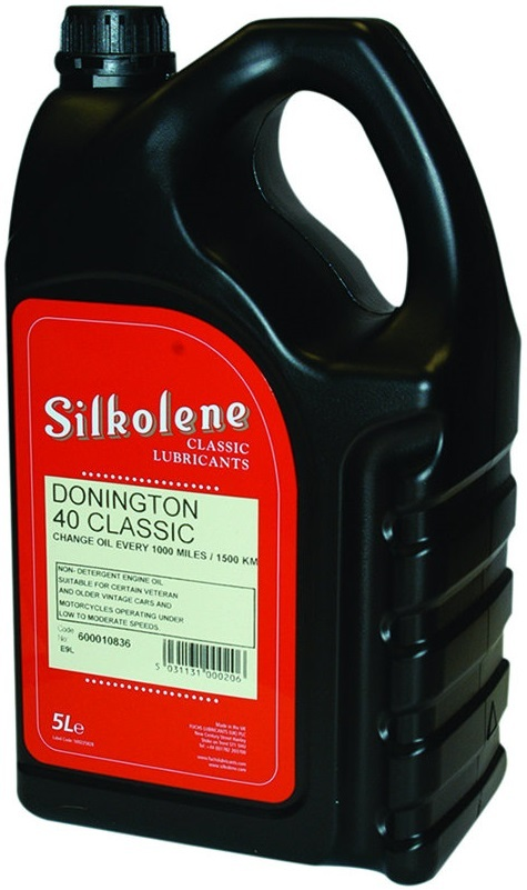 SILKOLENE シルコリン CLASSIC Donington 40【5L】【4サイクルオイル】