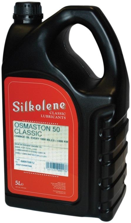 SILKOLENE シルコリン CLASSIC Osmaston 50【5L】【4サイクルオイル】