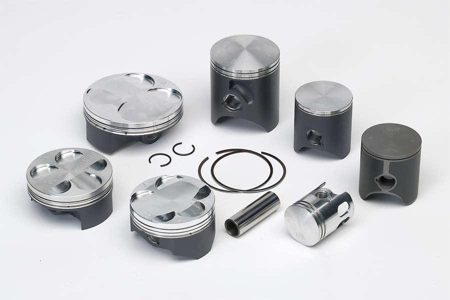ピストン・ピストン周辺パーツ VERTEX 鍛造ピストン ハイコンプ SUZUKI RM-Z250用(Vertex forged high compression piston Suzuki RM-Z250【ヨーロッパ直輸入品】) Φ76.97mm