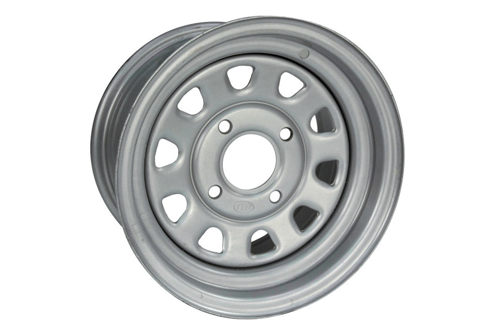 スチール ユーティリティーリム 12x7 4x110 4 + 3 ATV/YAMAHA GRIZZLY用 (ITP Utility ATV Steel Rim 12x7 4x110 4 + 3 Fits on Yamaha Grizzly【ヨーロッパ直輸入品】)