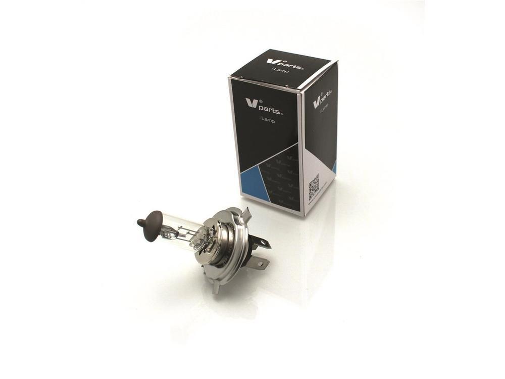 Vパーツ 各種バルブ バルブ H4 12V60/55W (10個セット) (V PARTS H4 12V60 / 55W box of 10 bulbs【ヨーロッパ直輸入品】)