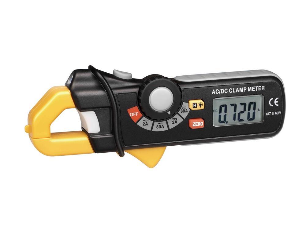 ジーカ 電気・電圧計 クランプメーター 1 mA - 80A (ZECA clamp meter 1 mA - 80 A【ヨーロッパ直輸入品】)