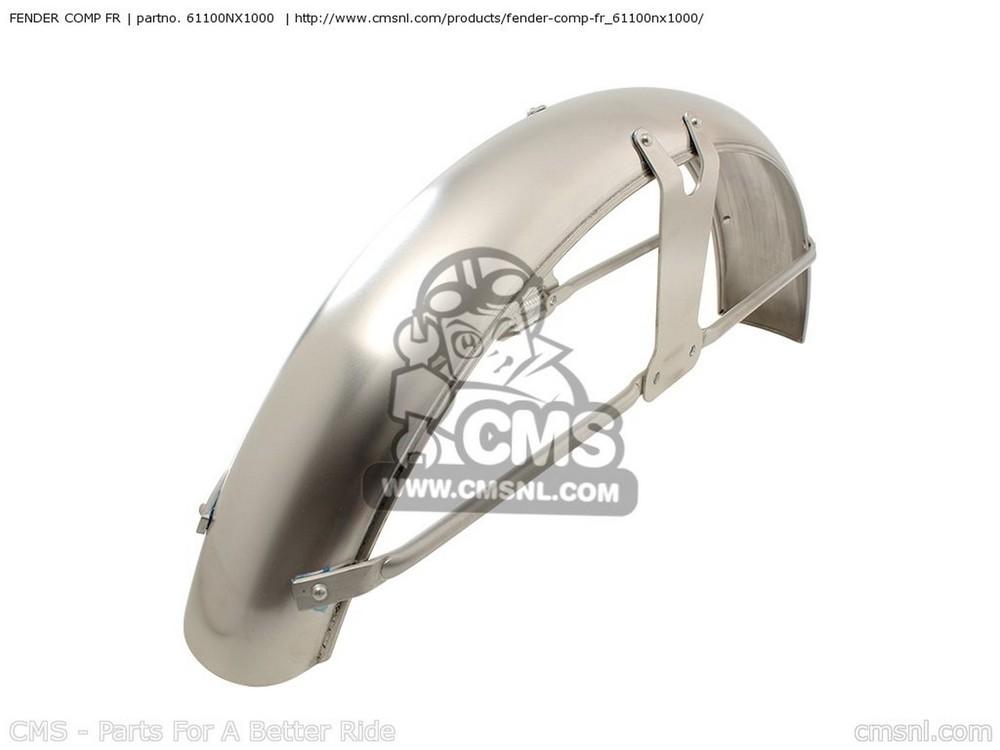 CMS シーエムエス フロントフェンダー FENDER COMP FR CB50R DREAM 2004 (4)