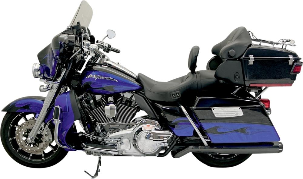マフラー ピンストライプEUD B1 2009-16【MUFFLR PSEUD B1 09-16】 カラー:ブラック (仕上げ:Machined,Powder-Coated)/エンドキャップカラー:ブラック・ナチュラル [1801-0551]