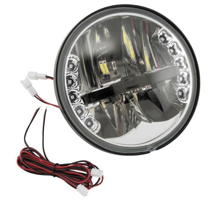 BikeMaster バイクマスター ヘッドライト本体・ライトリム/ケース LED Headlamp With Integrated Turn Signals [152595]